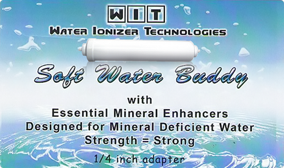 """Soft Water Buddy"" Remineralization Filter - Increasing the pH value"
