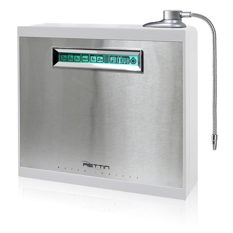 MMP-9090 Turbo Water Ionizer (white) - 9 platinum plates (white)