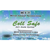 Cell Safe Anti-Scale Hard Water Filter -  Upgraded 20% More Media!